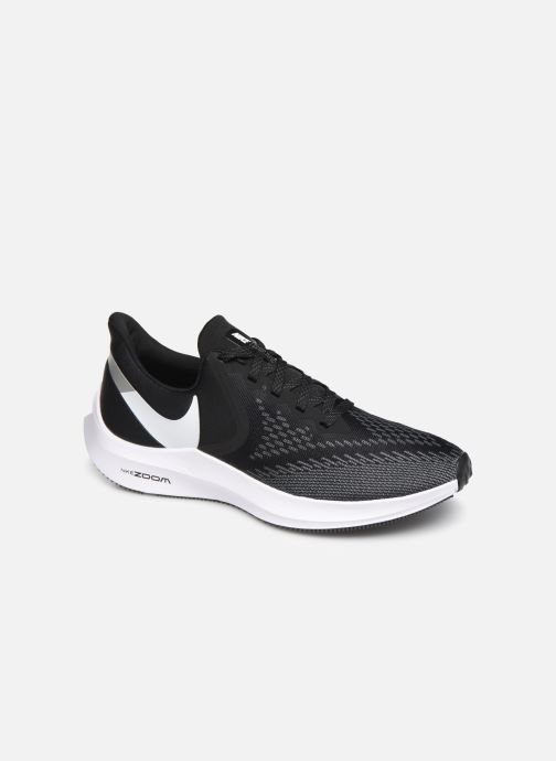 Zapatillas de deporte Nike Nike Zoom Winflo 6 Negro vista de detalle / par