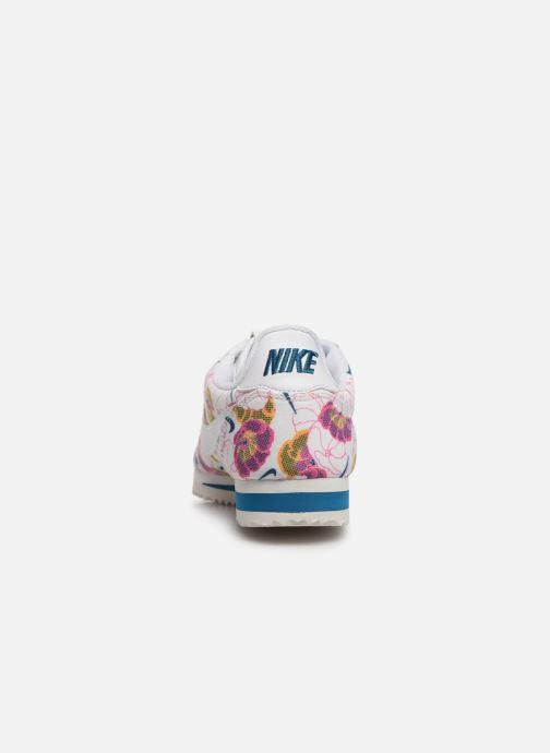 Baskets Nike Wmns Classic Cortez Lx Blanc vue droite