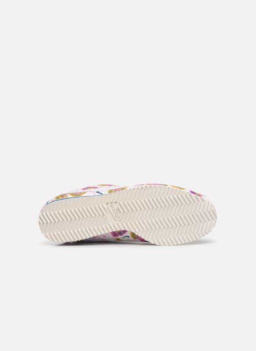 Baskets Nike Wmns Classic Cortez Lx Blanc vue haut