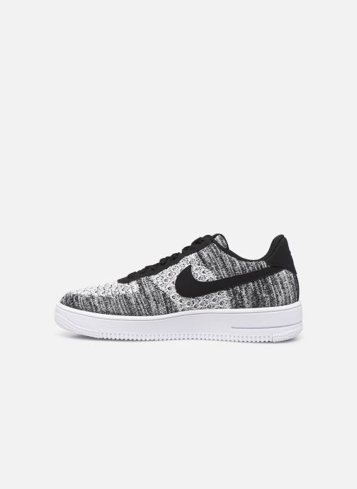 Baskets Nike Air Force 1 Flyknit 2.0 Gris vue face