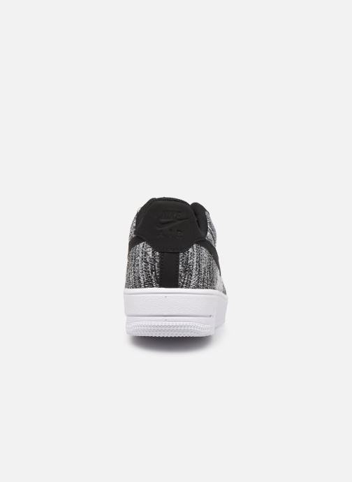 Baskets Nike Air Force 1 Flyknit 2.0 Gris vue droite