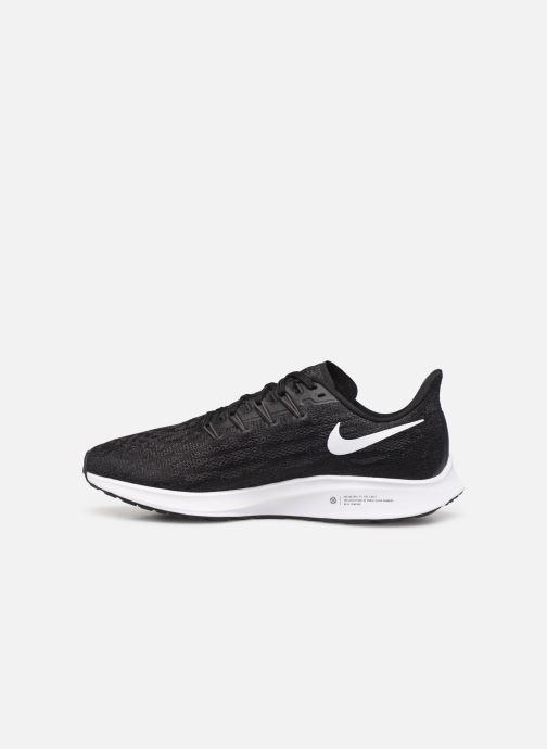 Sportschuhe Nike Nike Air Zoom Pegasus 36 schwarz ansicht von vorne