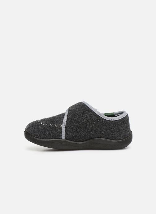 Pantoffels Kamik Cozylodge Zwart voorkant