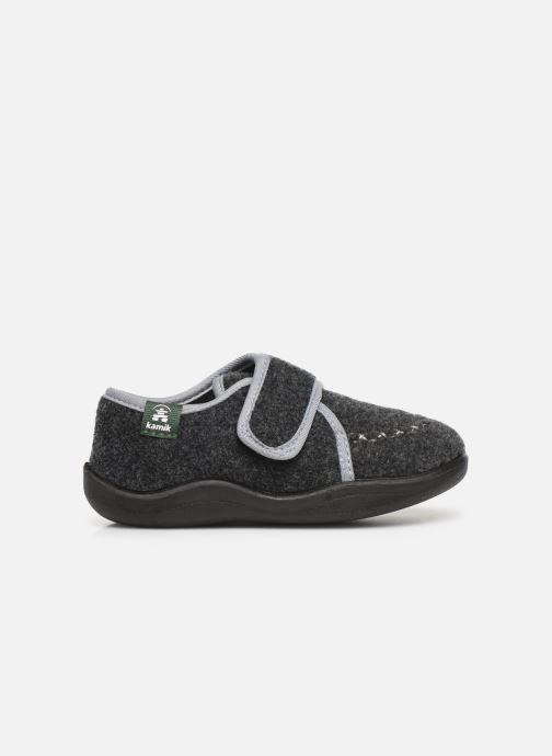 Pantoffels Kamik Cozylodge Zwart achterkant