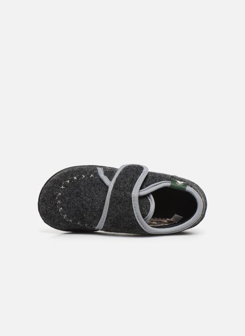 Pantofole Kamik Cozylodge Nero immagine sinistra