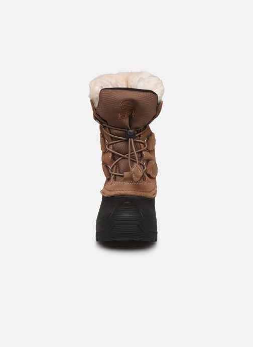 Chaussures de sport Kamik Snowdasher Beige vue portées chaussures