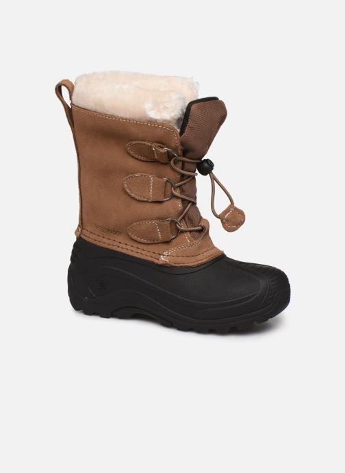 Chaussures de sport Kamik Snowdasher Beige vue détail/paire