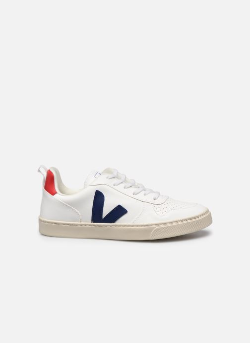 Sneakers Veja Small V-10 Lace Wit achterkant