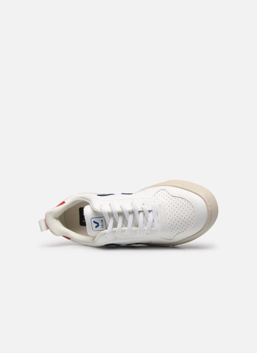 Sneakers Veja Small V-10 Lace Bianco immagine sinistra