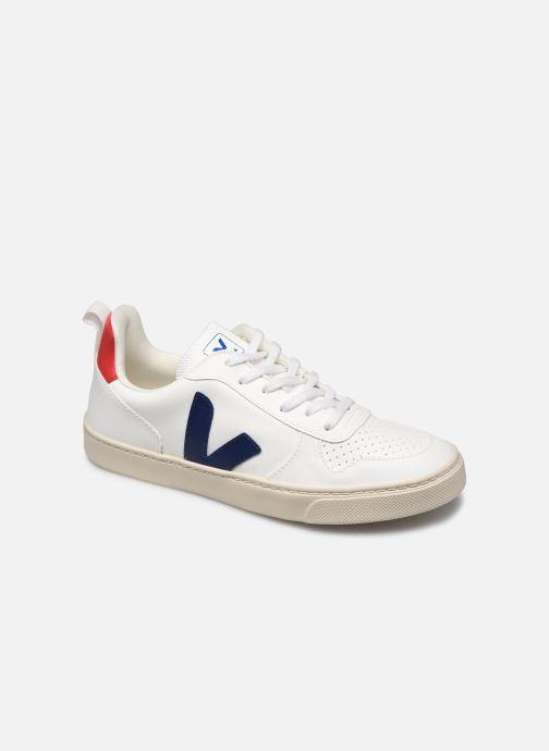 Sneakers Veja Small V-10 Lace Bianco vedi dettaglio/paio