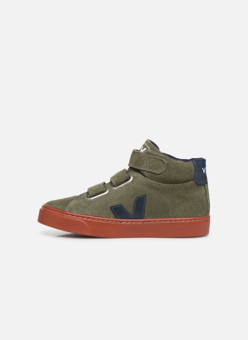 Trainers Veja Esplar Small Mid Velcro Green front view