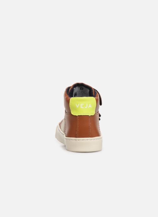 Baskets Veja Esplar Small Mid Velcro Marron vue droite