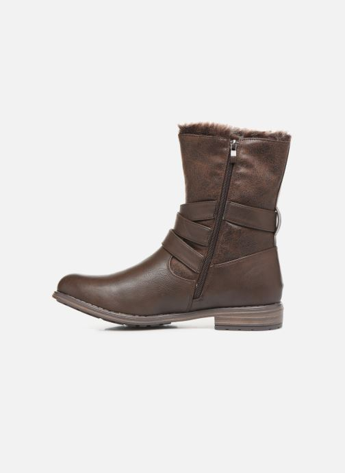 Stiefeletten & Boots I Love Shoes FALEXA Size + braun ansicht von vorne