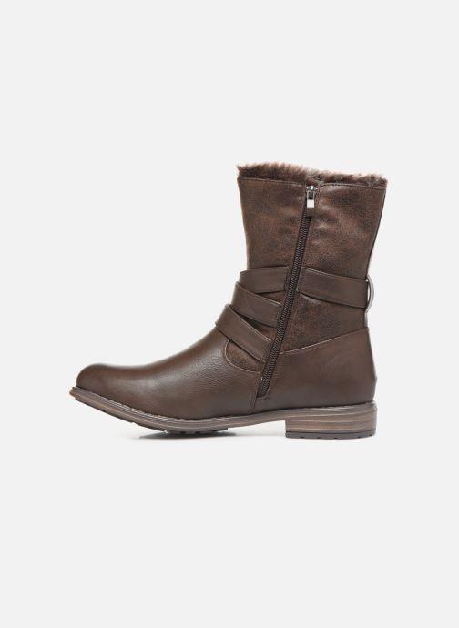 Ankelstøvler I Love Shoes FALEXA Size + Brun se forfra