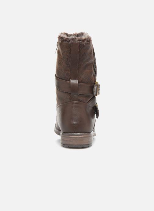 Ankelstøvler I Love Shoes FALEXA Size + Brun Se fra højre