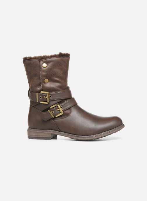 Botines  I Love Shoes FALEXA Size + Marrón vistra trasera