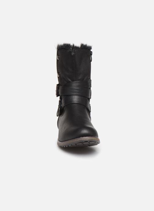 Stivaletti e tronchetti I Love Shoes FALEXA Size + Nero modello indossato