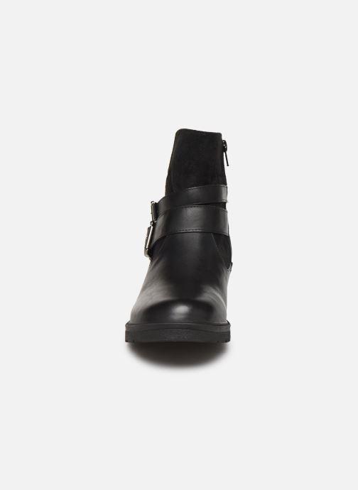 Stivaletti e tronchetti I Love Shoes FAGLAE Size + Nero modello indossato