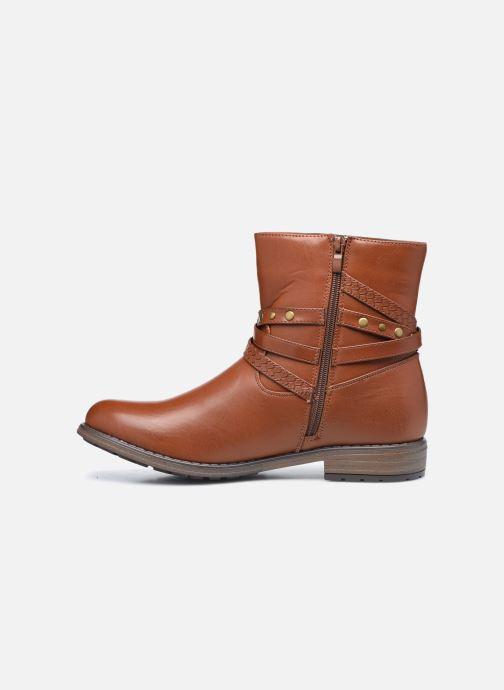 Stiefeletten & Boots I Love Shoes FIMONA Size + braun ansicht von vorne