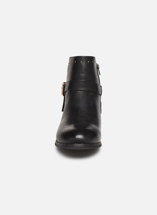Stivaletti e tronchetti I Love Shoes FAKIRA Size + Nero modello indossato