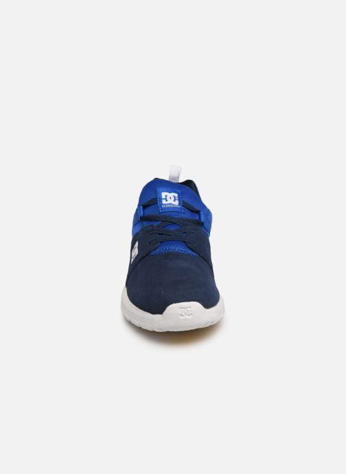 Baskets DC Shoes Heathrow Se B Shoe Nrd Bleu vue portées chaussures