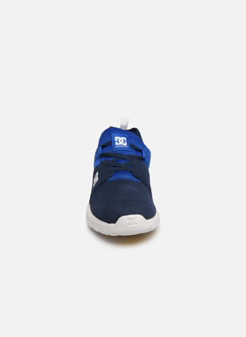 Baskets DC Shoes Heathrow Se B Shoe Nrd Bleu vue portées chaussures