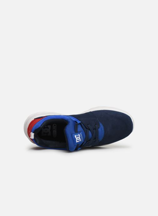 Baskets DC Shoes Heathrow Se B Shoe Nrd Bleu vue gauche