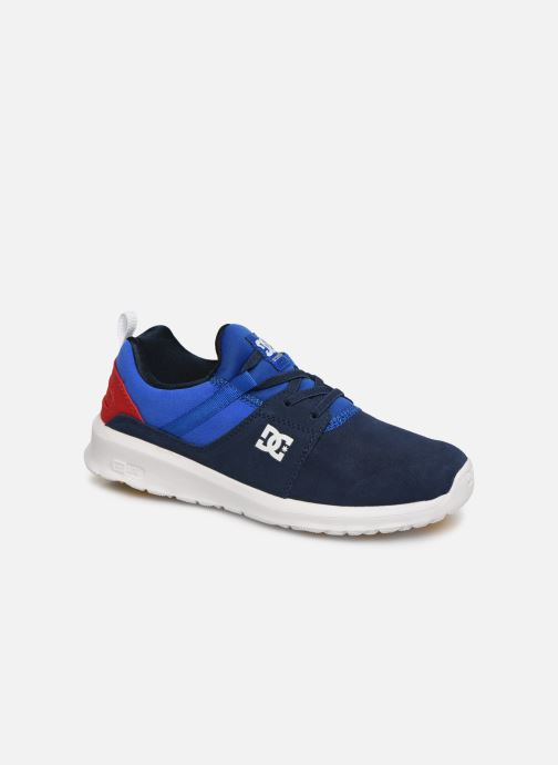 Baskets DC Shoes Heathrow Se B Shoe Nrd Bleu vue détail/paire