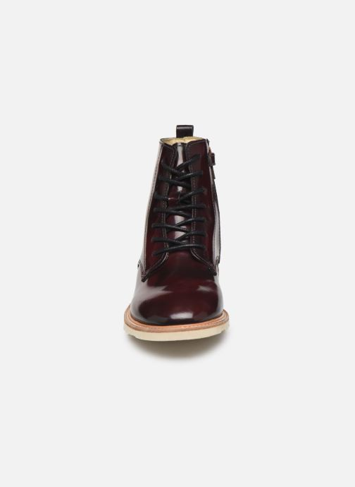 Ankle boots Young Soles Rodney Burgundy model view