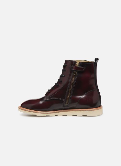 Ankle boots Young Soles Rodney Burgundy front view