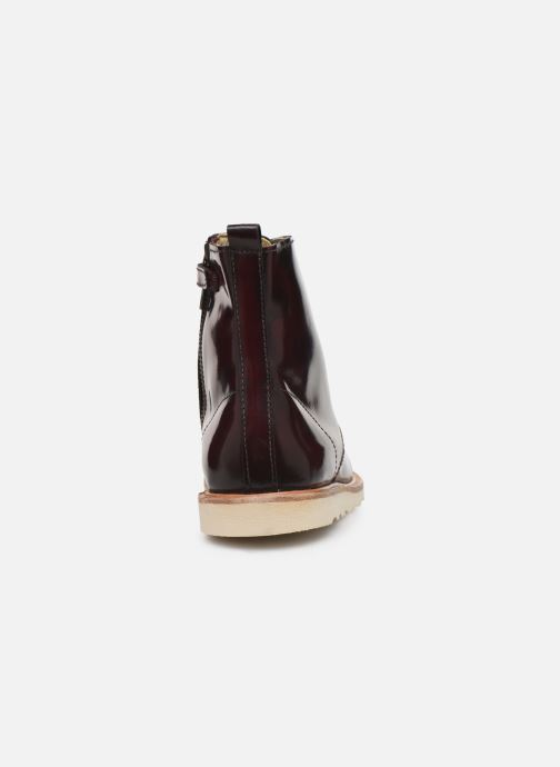 Ankle boots Young Soles Rodney Burgundy view from the right