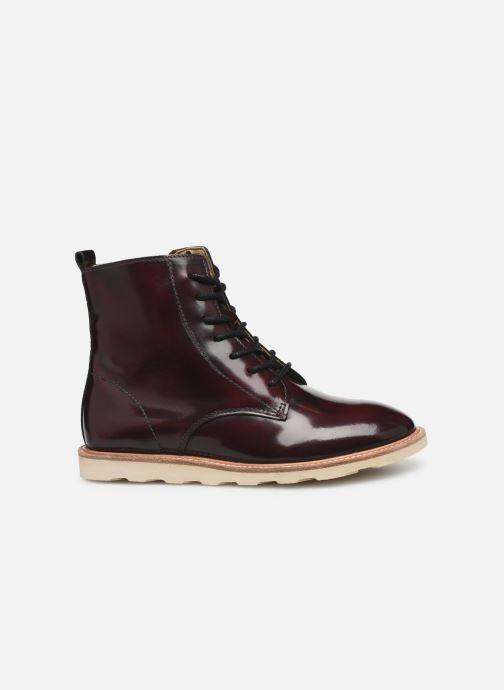 Boots en enkellaarsjes Young Soles Rodney Bordeaux achterkant