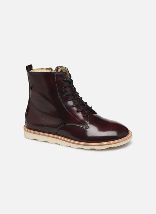 Boots en enkellaarsjes Young Soles Rodney Bordeaux detail