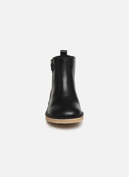 Bottines et boots Young Soles Winston Noir vue portées chaussures