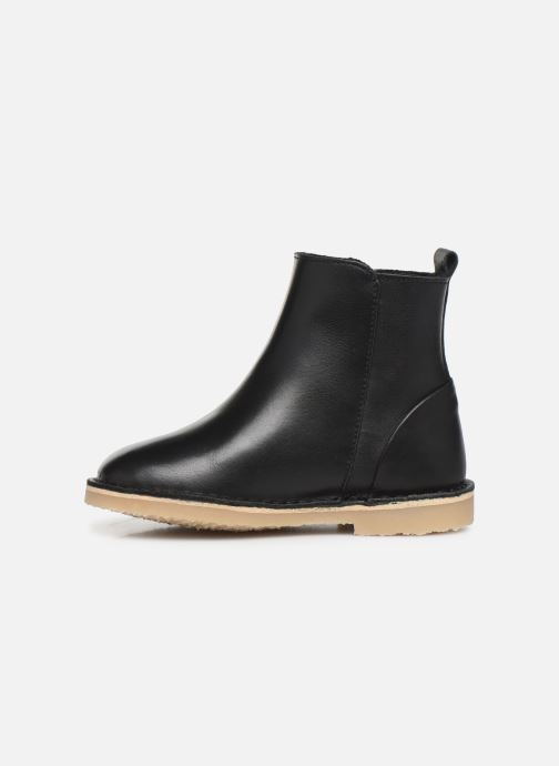 Ankle boots Young Soles Winston Black front view