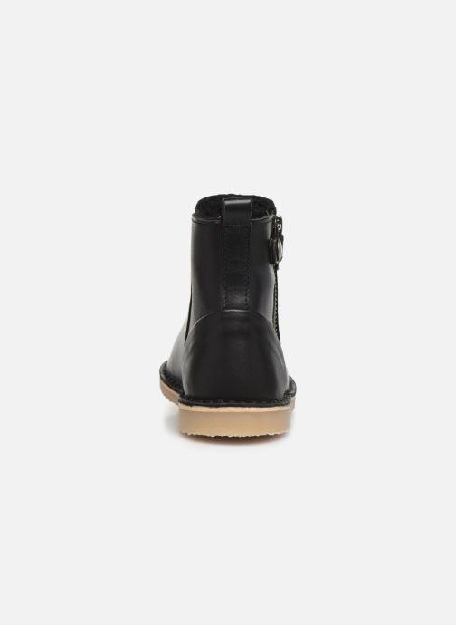 Boots en enkellaarsjes Young Soles Winston Zwart rechts