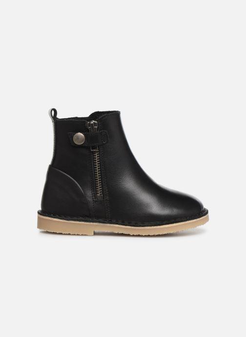 Boots en enkellaarsjes Young Soles Winston Zwart achterkant