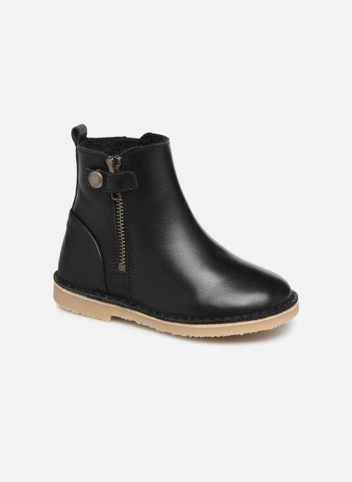 Bottines et boots Young Soles Winston Noir vue détail/paire