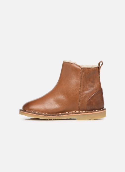 Boots en enkellaarsjes Young Soles Winston Bruin voorkant