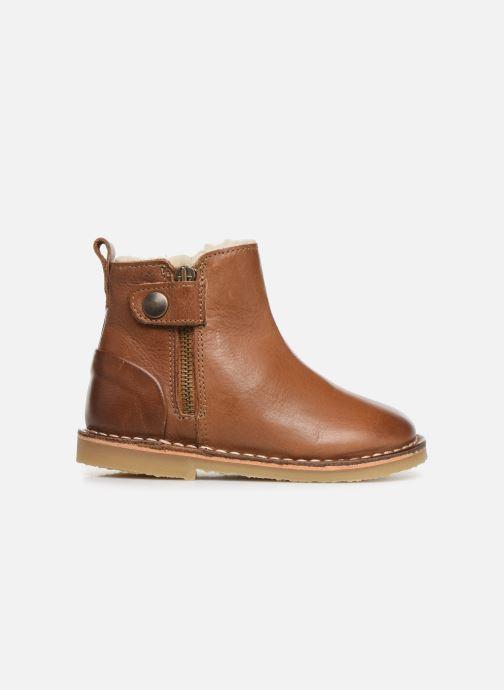 Boots en enkellaarsjes Young Soles Winston Bruin achterkant