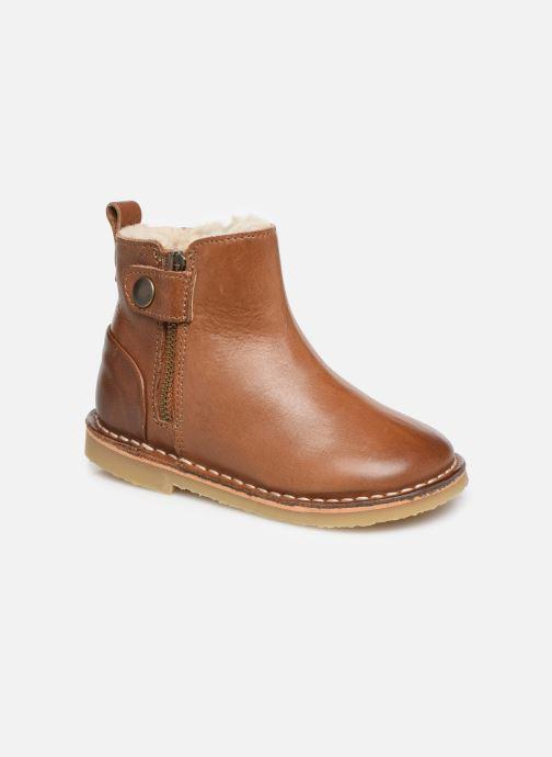 Boots en enkellaarsjes Young Soles Winston Bruin detail