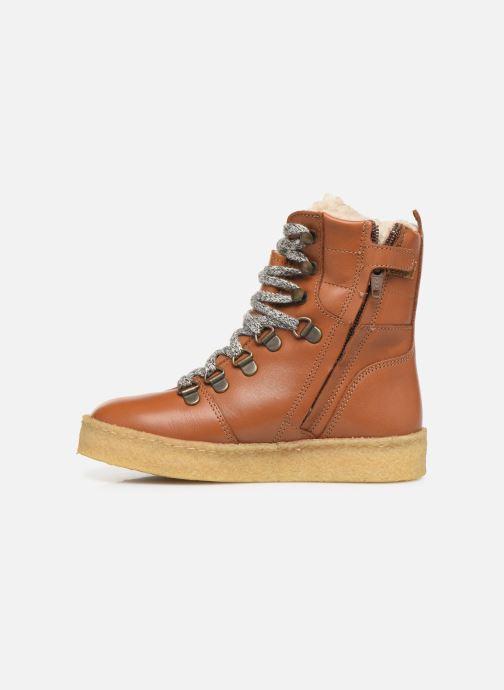 Bottines et boots Young Soles Ernest Marron vue face
