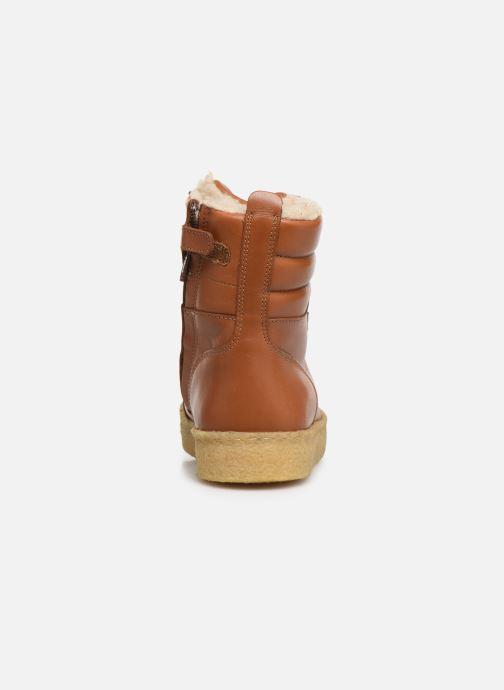 Bottines et boots Young Soles Ernest Marron vue droite