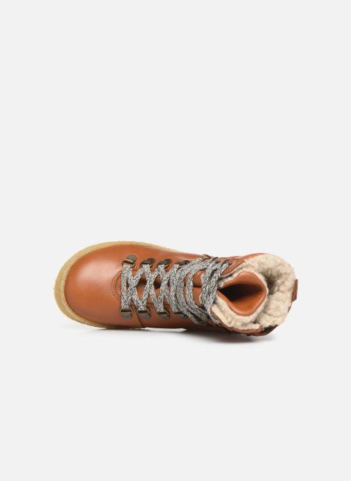 Bottines et boots Young Soles Ernest Marron vue gauche