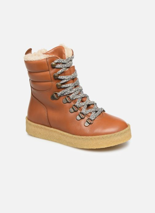 Ankle boots Young Soles Ernest Brown detailed view/ Pair view