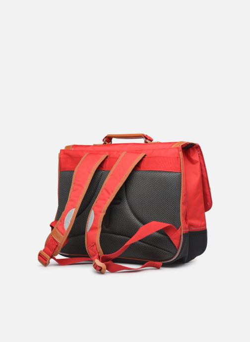 School bags Tann's MADRID 38CM Red view from the right