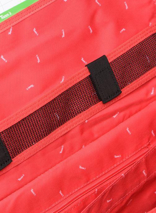 Skolväskor Tann's MADRID 38CM Röd bild från baksidan