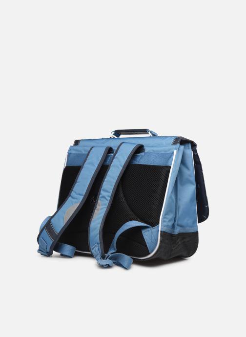 Scolaire Tann's BLEU DE PRUSSE 38CM Bleu vue droite