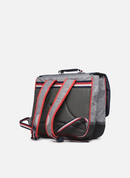 School bags Tann's LIGHT 41CM Grey view from the right