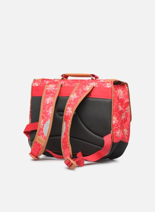 School bags Tann's LONDON 35CM Pink view from the right